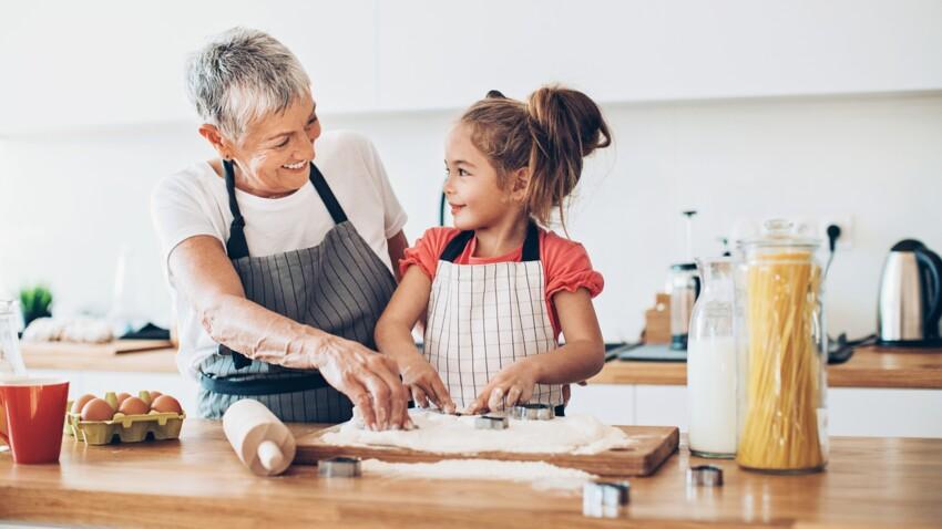 5 bonnes raisons de cuisiner avec ses petits-enfants