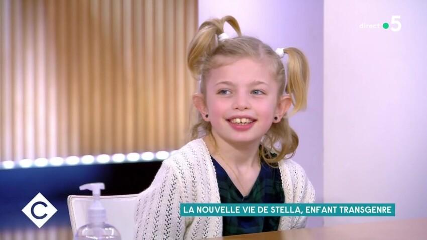 """Le témoignage poignant de Stella, 8 ans, enfant transgenre, dans """"C à vous"""""""