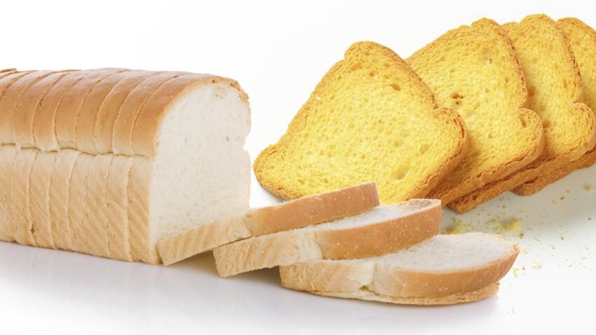 Biscotte ou pain de mie, on choisit quoi ?