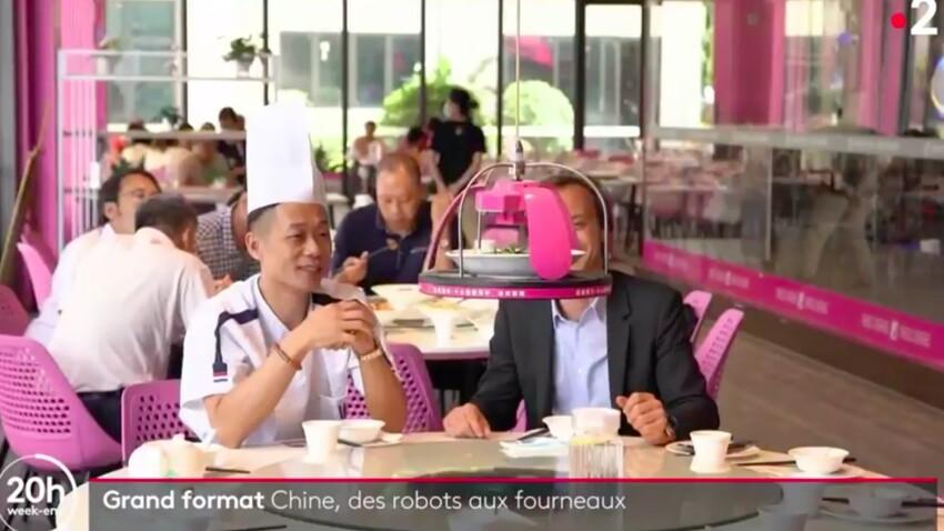 VIDEO - Un restaurant tenu uniquement par des robots : les images bluffantes des plats cuisinés
