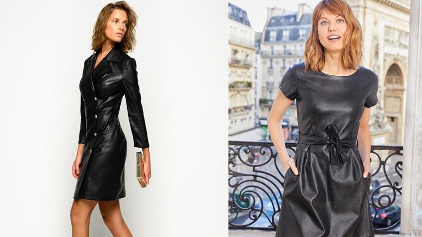 Peut-on oser la robe en cuir après 50 ans ?