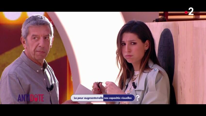 Laury Thilleman panique sur le plateau de Michel Cymes et refuse de participer à une expérience