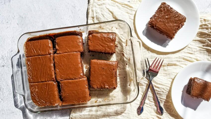 La recette surprenante du gâteau au chocolat et légumes de Cyril Lignac