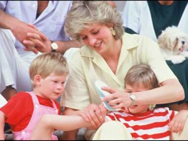 Lady Diana : les 25 photos cultes avec ses fils Harry et William