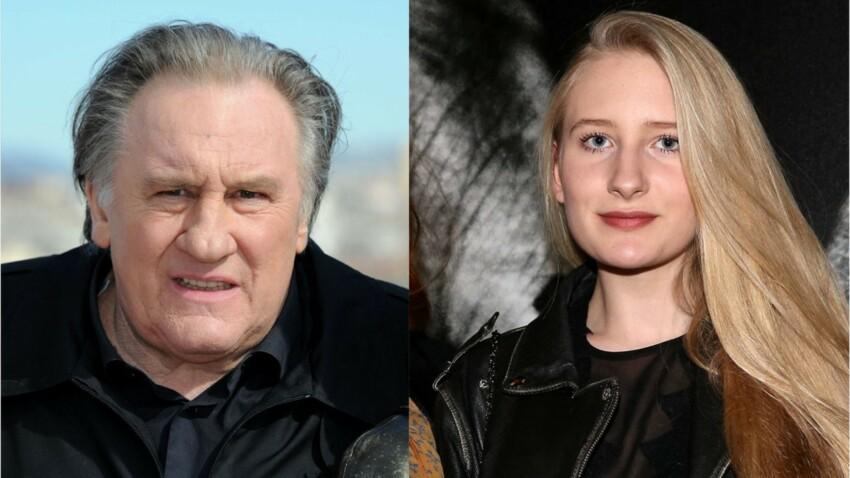 Gérard Depardieu s'affiche très complice avec sa petite-fille Louise