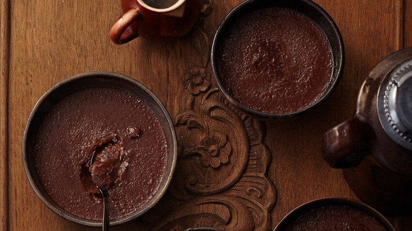 Crème brûlée chocolat-café