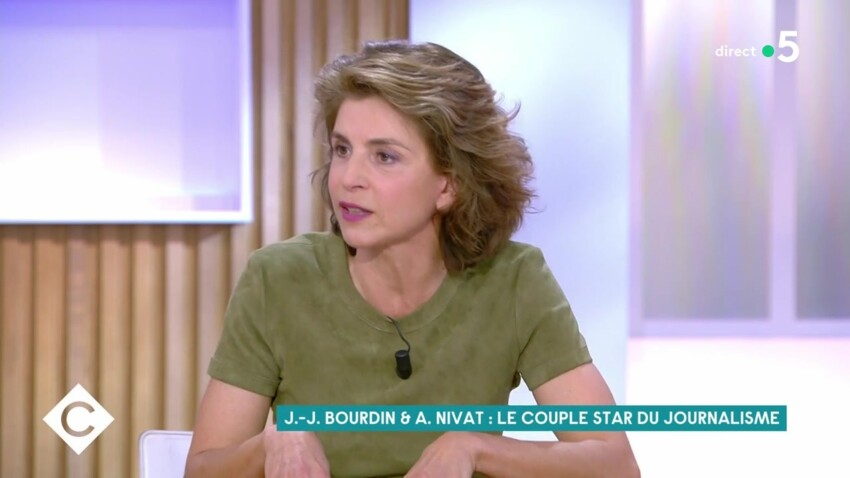 """Anne Nivat évoque sa """"complémentarité"""" avec son mari Jean-Jacques Bourdin"""