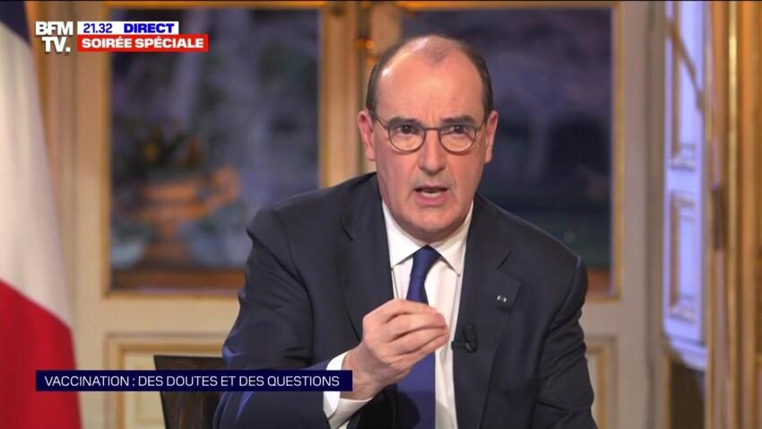 Jean Castex évoque la fin des mesures sanitaires dans son interview sur BFMTV
