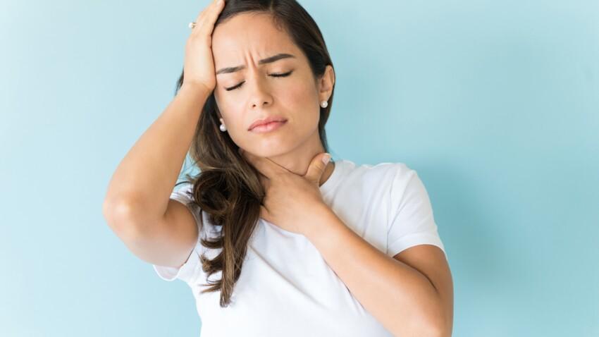 Gêne dans la gorge : d'où vient cette sensation d'avoir une boule dans la gorge ?