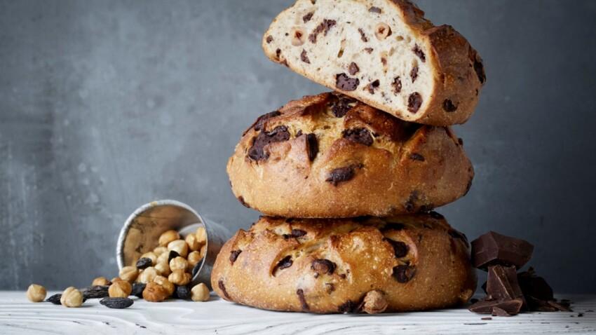 La recette facile du pain aux pépites de chocolat d'Eric Kayser pour Pâques