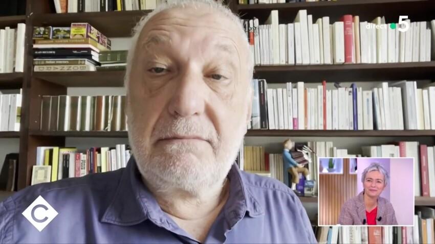 François Berléand adresse un tendre message à sa compagne, l'écrivaine Alexia Stresi