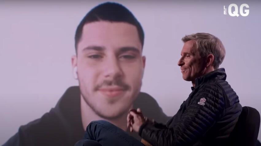 """Quand Dimitri, le fils de Denis Brogniart balance sur son père : """"Qu'est-ce que t'as dis comme connerie"""" - VIDEO"""