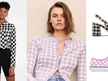 Maxi Vichy : 15 pièces mode et accessoires pour adopter l'imprimé tendance du printemps-été 2021