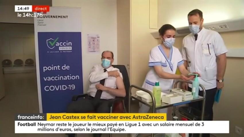 Jean Castex vacciné : sa blague coquine sur Olivier Véran - VIDEO