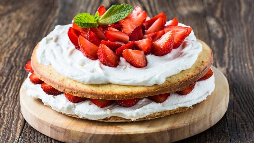 La recette du fraisier express de Christophe Michalak