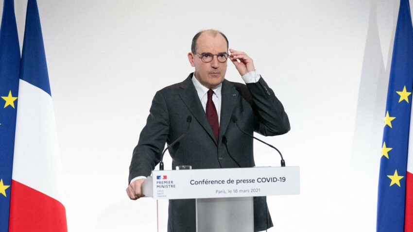 """""""Dedans avec les miens, dehors en citoyen"""" : Jean Castex clarifie (enfin) les règles du 3e confinement à respecter"""