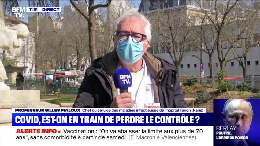 Covid-19 : le Pr Gilles Pialoux inquiet et pessimiste sur la situation sanitaire en France