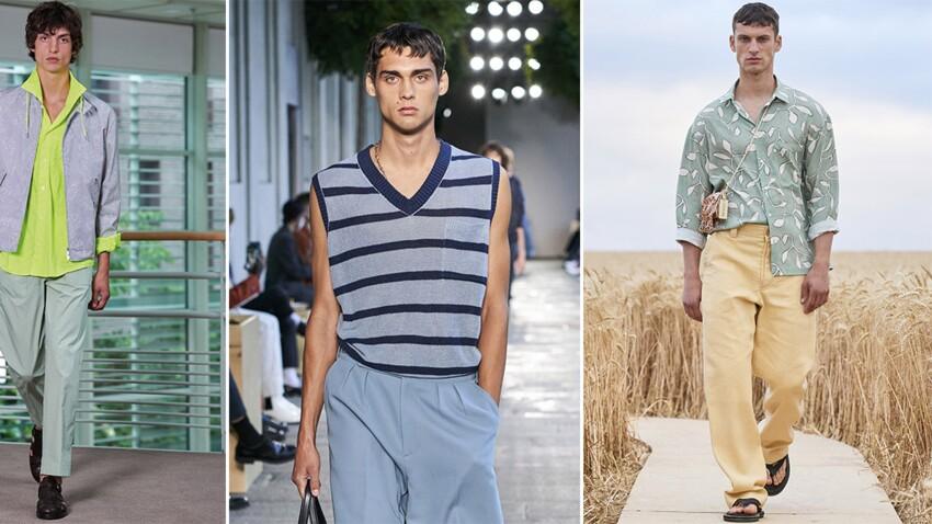 Les tendances mode homme du printemps-été 2021