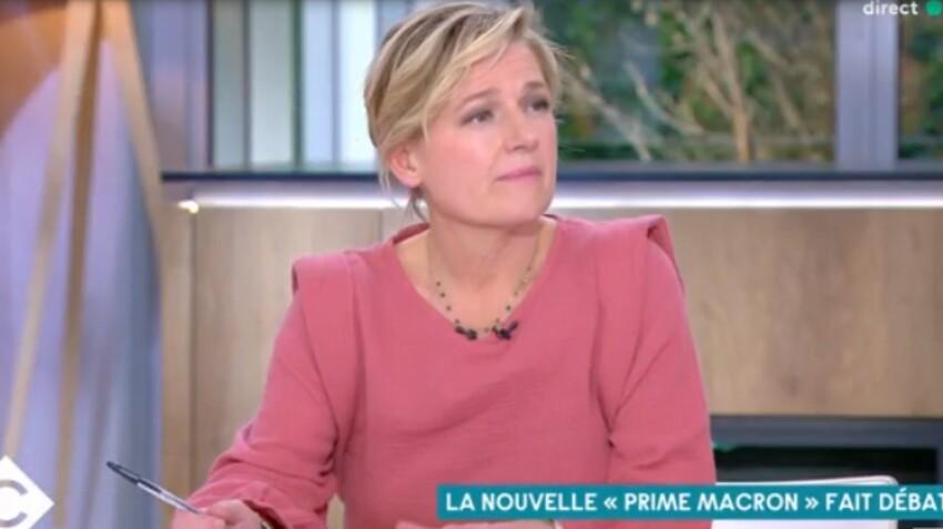 """Prime Macron : les chroniqueurs de """"C à vous"""" y ont-il droit ? Anne-Elisabeth Lemoine gênée"""