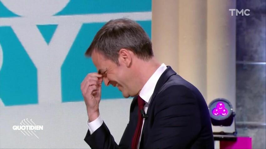 Olivier Véran, pris d'un fou rire incontrôlable après la blague osée de Yann Barthès - VIDEO