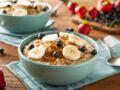 Nos recettes de porridge pour un petit-déjeuner healthy
