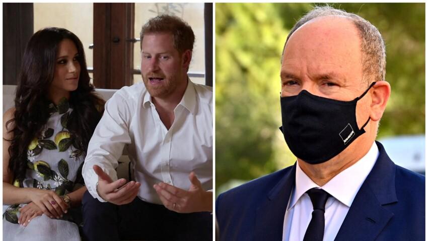 """Albert de Monaco """"dérangé"""" par l'interview de Meghan et Harry : le prince sort du silence"""