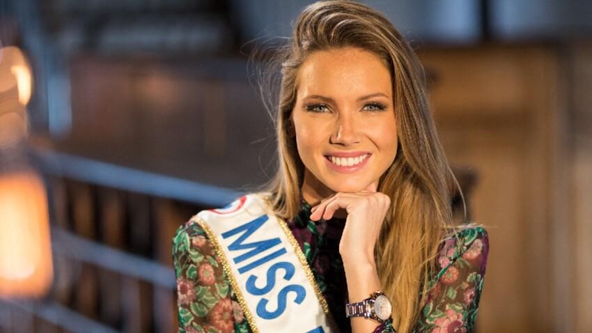 Amandine Petit sexy : Miss France 2021 ose une robe en cuir canon