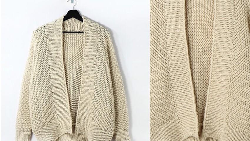Comment tricoter facilement un gilet d'une seule pièce ?