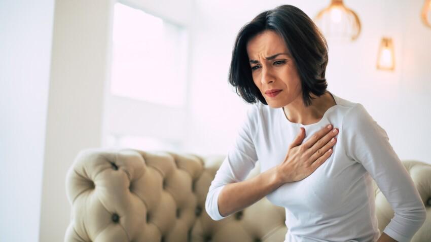 Pointe au cœur: d'où vient cette douleur dans la poitrine et quand faut-il s'inquiéter?