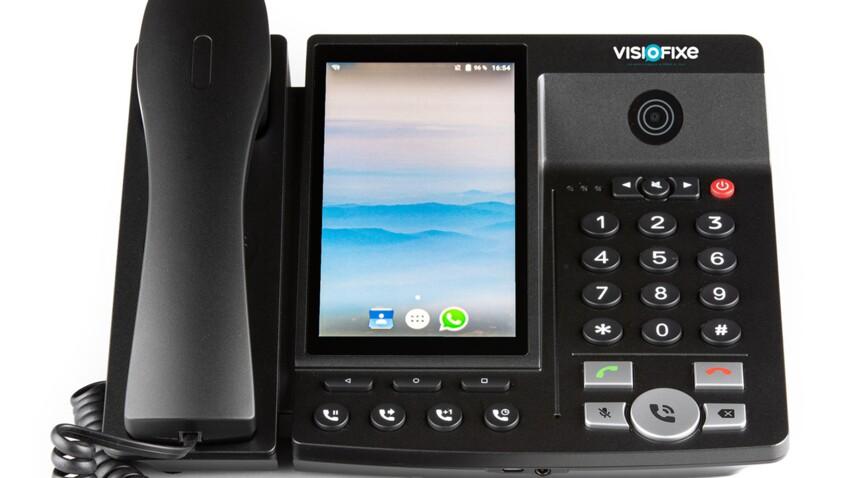 On a testé le téléphone fixe... avec écran !
