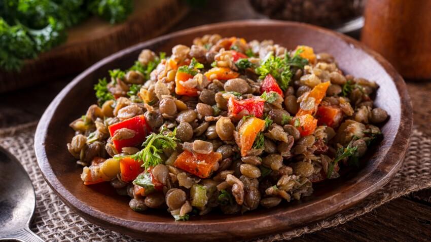 Lentilles vertes : nos meilleures recettes pour remplacer la viande
