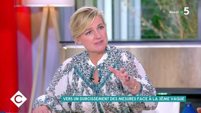 Anne-Elisabeth Lemoine gênée après la boutade d'une de ses chroniqueuses