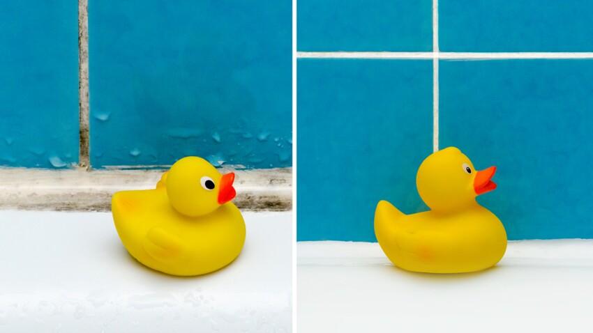 Comment enlever la moisissure dans la salle de bain : 5 astuces efficaces