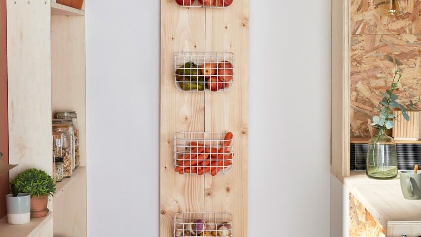 Créer une étagère porte-fruits
