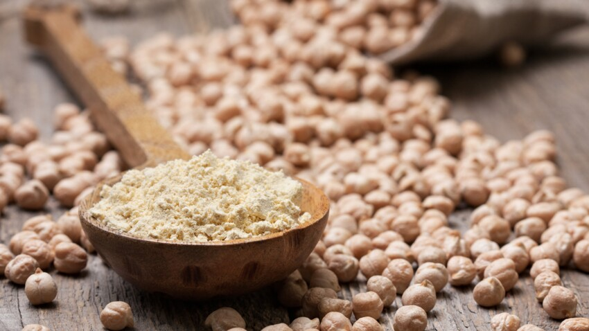 3 idées de recettes à base de farine de pois chiches