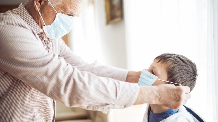 Confinement  : les grands-parents peuvent-ils garder leurs petits-enfants pendant cette période ?