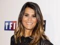 Karine Ferri rock et sexy : total look cuir, talons et bracelet de cheville (wow !)