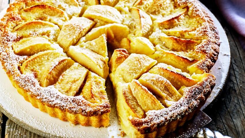 La tarte aux pommes à la normande de ma grand-mère