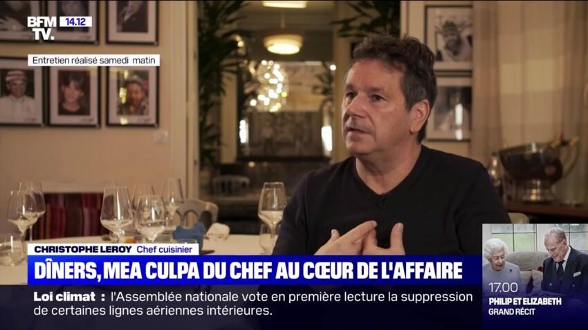 Affaire des dîners clandestins : le chef cuisinier Christophe Leroy assume son erreur