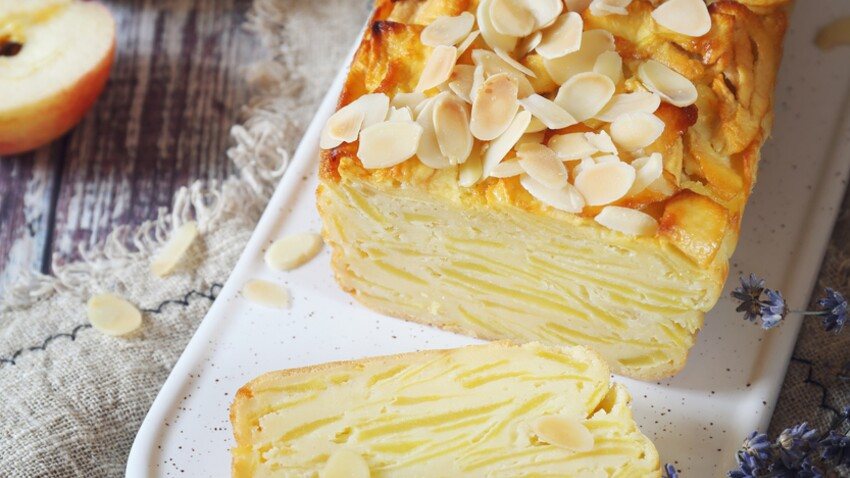 L'incroyable gâteau invisible aux pommes de Cyril Lignac