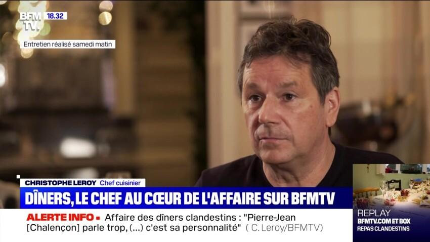 Dîners clandestins : le chef Christophe Leroy s'emporte contre Pierre-Jean Chalençon