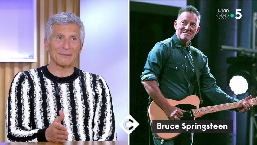 Nagui explique pourquoi il en veut à la femme de Bruce Springsteen