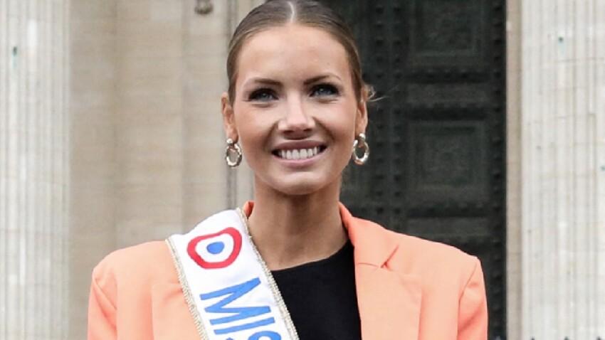 Amandine Petit sexy, décolleté bombé et cuisse dévoilée : Miss France affole la Toile