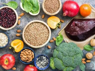 Les aliments les plus riches en fer pour éviter les carences