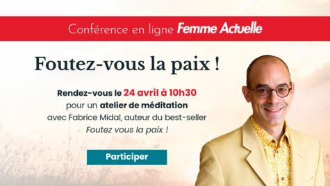 Apprenez à méditer avec Fabrice Midal