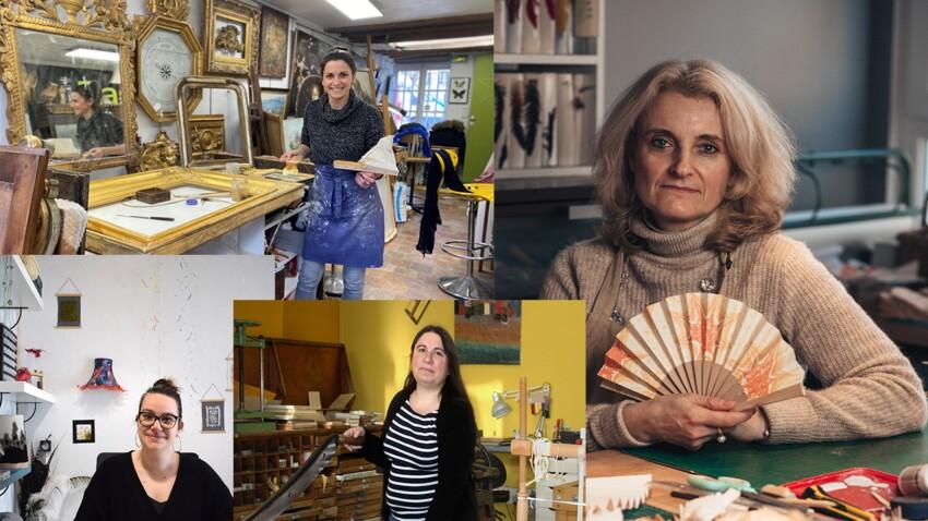Métiers d'art: ces femmes transmettent leur passion
