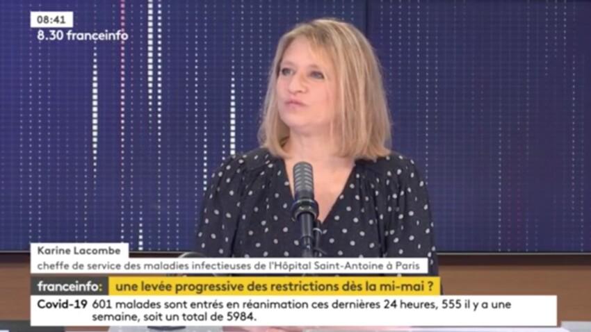 """3e déconfinement : les annonces du gouvernement, un peu trop """"enthousiastes"""" selon Karine Lacombe"""