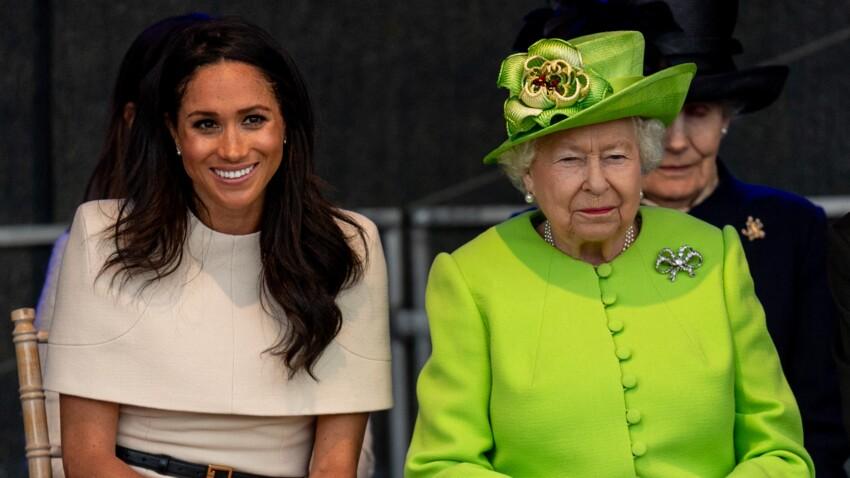 Pourquoi Meghan Markle s'est entretenue avec la reine Elizabeth II avant les funérailles du prince Philip ?