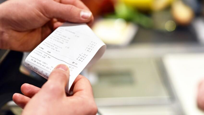 Carrefour et Système U ne fournissent plus de tickets de caisse