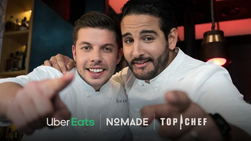 """Top Chef """"La Guerre des Restos"""" : Uber Eats va livrer les plats de l'émission du 22 au 28 avril dans plusieurs villes françaises"""